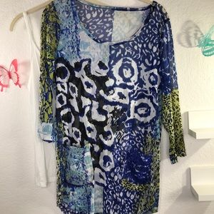 Peck & Peck Small tunic w/tank,  love the pockets
